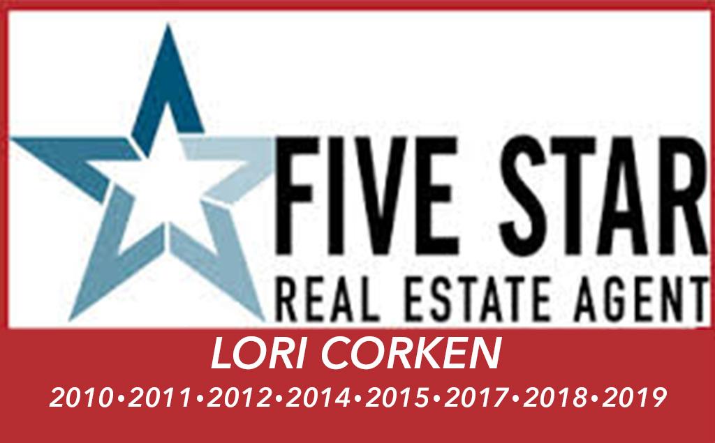 Five Star Awards Lori Corken